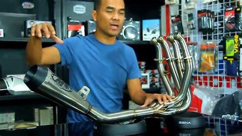 Knalpot I One Stainless Gp Tiger New 1 knalpot m4 gp titan system untuk kawasaki zx6r zx636r