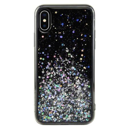 switcheasy starfield iphone xs max glitter black