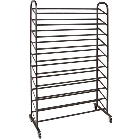 rolling shoe storage rolling shoe rack 50 pair in shoe racks