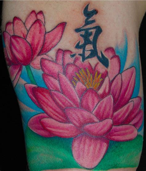 cool louts flower tattoo design yusrablog com