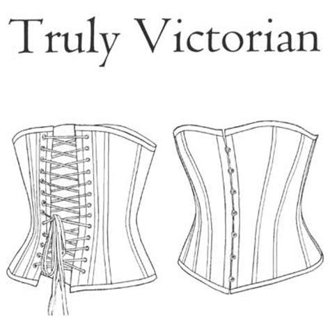 corset pattern generator victorian a rare notion