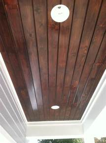 tongue and groove ceiling tongue and groove ceiling great stain color for foyer and