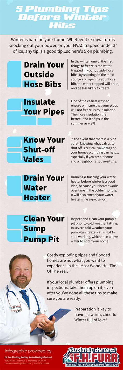 Plumbing Tips by 5 Plumbing Tips Before Winter Hits