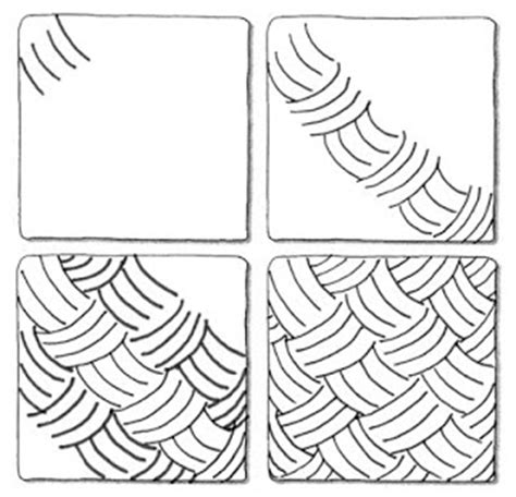 simple pattern to draw zentangle patterns step by step google search