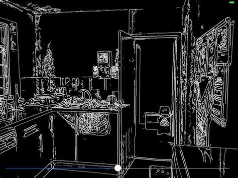 opencv pre processing image before applying canny edge