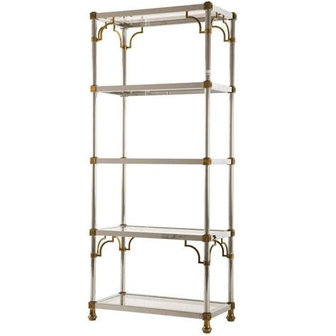 Etagere 77 Cm by Vintage Chrome And Brass 201 Tag 232 Re At 1stdibs