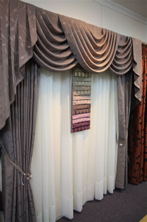 swags and tail curtains swags and tails jaleigh blinds and curtains