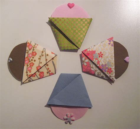 Origami Cupcake - pin cupcake kit by 3dorigamidreambank on etsy cake
