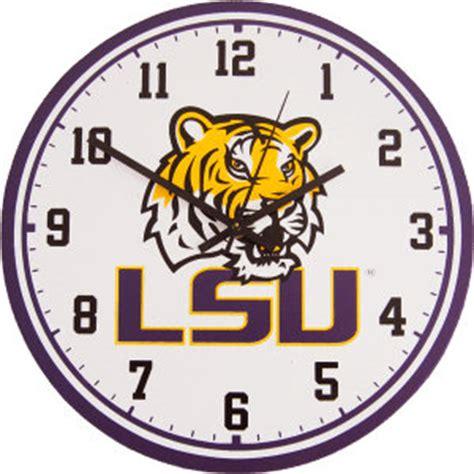 lsu wall clock tigers