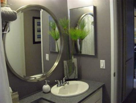 large glass mirror bathroom large round bathroom mirrors home design ideas