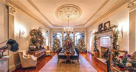 atlanta buckhead christmas showhouse interior eclectic christmas at callanwolde callanwolde fine arts
