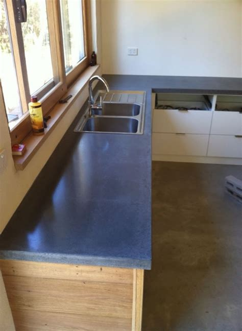 Kitchen Benchtop Sims by Concrete Benchtops By Benchmark Benchtops Images Frompo