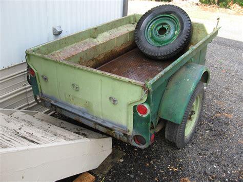 bantam jeep trailer 1946 bantam trailer medford or sold ewillys
