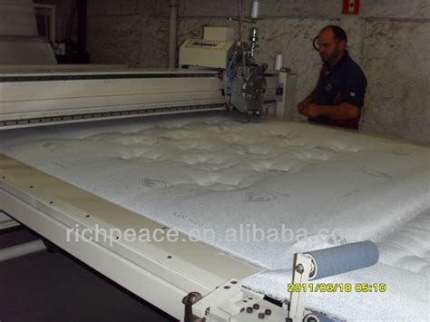 Machine Settings For Quilting by Richpeace Automatic Single Quilting Machine Mattress