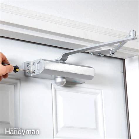 Front Door Closer Install A Hydraulic Door Closer Door Closer Doors And Door Design