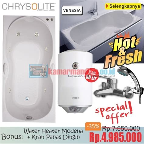 Water Heater Merk Modena bathtub venesia water heater modena 50 l distributor