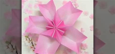 Origami Cherry - how to origami a cherry blossom dish 171 origami wonderhowto