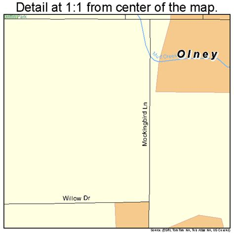 olney texas map olney texas map 4854000