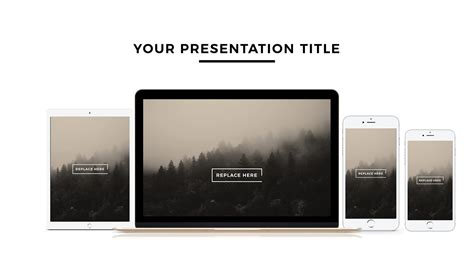 apple devices mockups free powerpoint template