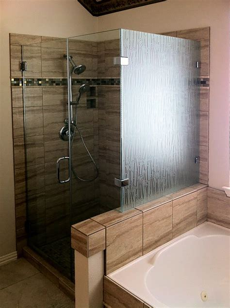 Patterned Glass Shower Doors Specialty Bath And Shower Glass Shower Doors Of
