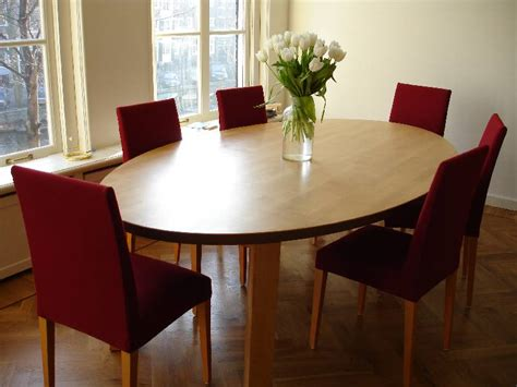 oval dining room tables dining room table suitable for a restaurant or cafe