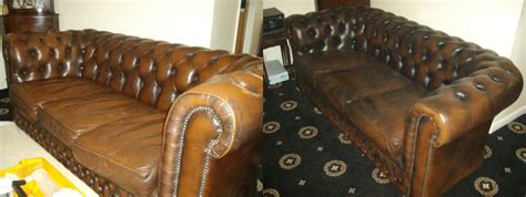 Chesterfield Sofa Repair Leather Doctor Chesterfield Leather Sofa Repair Kent