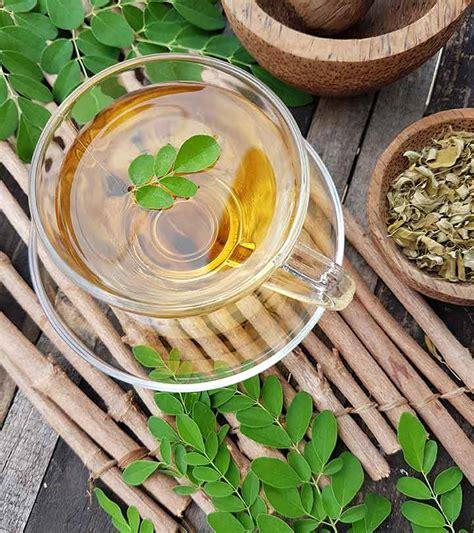 Teh Moringa cara membuat teh bubuk kelor