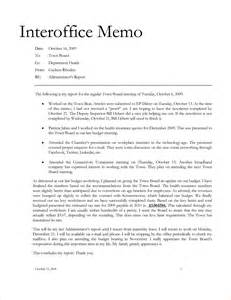 6 interoffice memorandumreport template document report