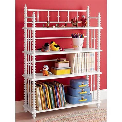 lind bookcase white