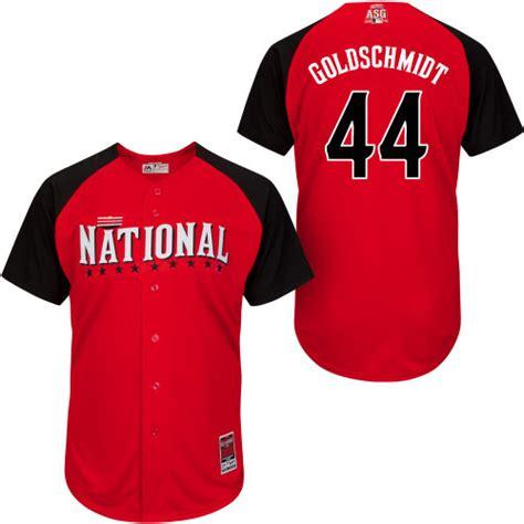 aliexpress jerseys baseball 44 paul goldschmidt jersey 2015 baseball all star jersey