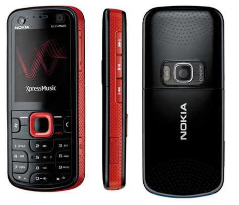 Nokia Launches 5700 Xpressmusic With Dedicated Chip by Nokia Launches The 5320 5220 Xpressmusic Cell Phone Digest