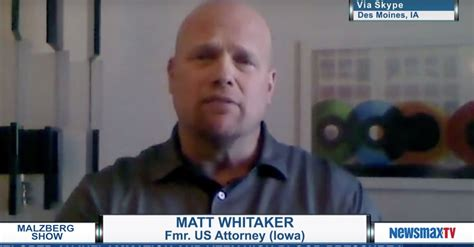 jeff sessions whittaker who is matthew whitaker law crime
