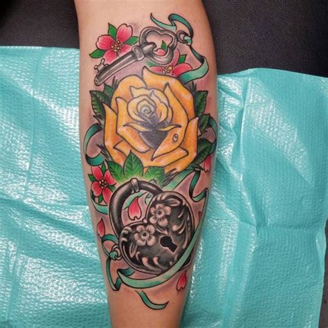 tattoo enthusiast meaning 85 best lock and key tattoos designs meanings 2018