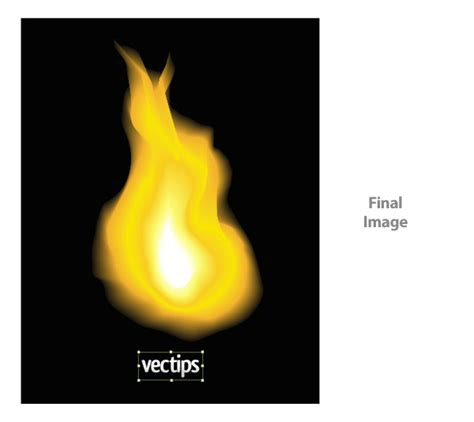 tutorial vector flame learn how to create realistic vector fire
