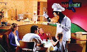 Goofy S Kitchen Dinner by Disneyland California Dining