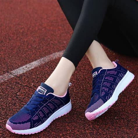 Sepatu Santai Terbaru Wanita sepatu wanita gaya kasual untuk santai sekolah jalan jalan