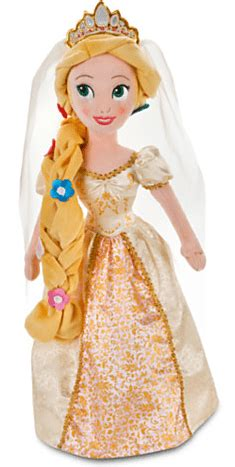 Promo Rapunzel Treatment Hair Baby disneystore deal save 58 on the 20 quot rapunzel plush