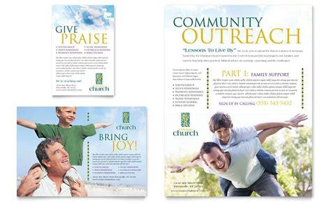 Free Church Brochure Templates For Microsoft Word The Hakkinen Church Brochure Template Publisher