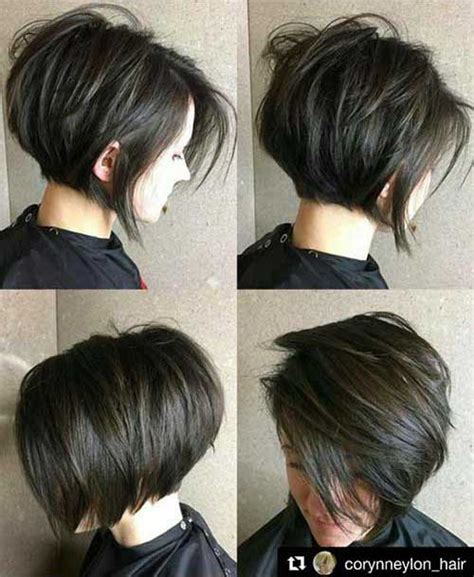 short brunette hairstyles front and back charming short brunette hairstyles short hairstyles 2017