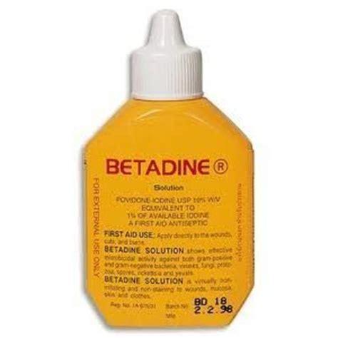 Betadine Antiseptik Solution 30ml betadine povidone iodine antiseptic solution 30ml nakosite