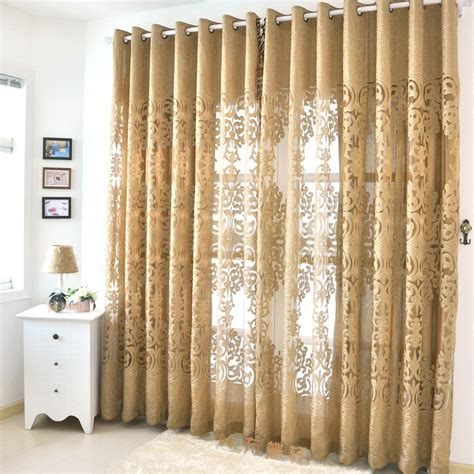 gold sheer curtain panels beautiful yarn patterned semi dark gold sheer curtains