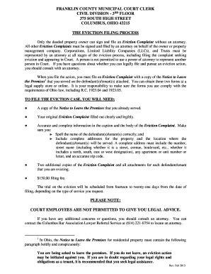sle eviction notice north carolina franklin county north carolina eviction fill online