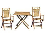 bamboo table and chair sets bamboo products palapa