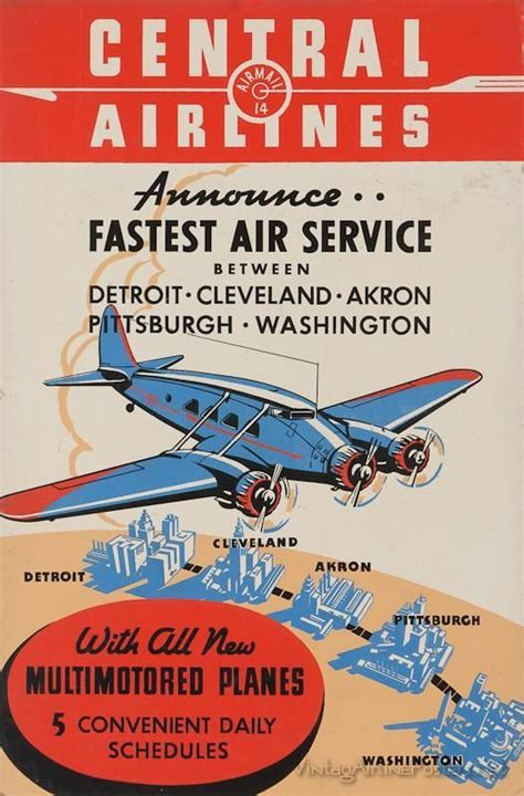 pin    airline posters older   vintage