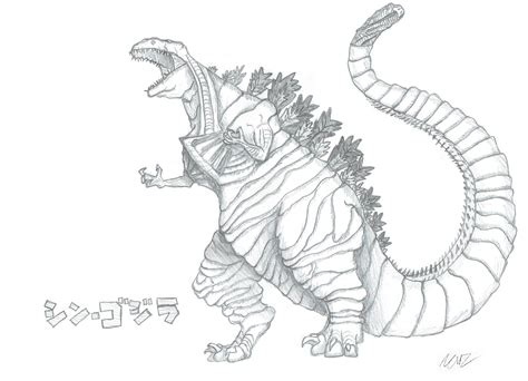 baby godzilla coloring pages baby godzilla coloring pages best of i made a sketch of