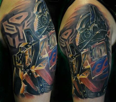 transformers tattoos 15 superman designs