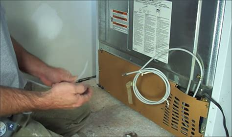 French Door Fridge With Ice And Water Dispenser - how to install a refrigerator with ice and water dispensers