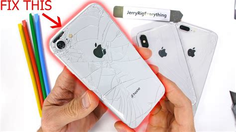 iphone  glass fix  easy   clear mod youtube