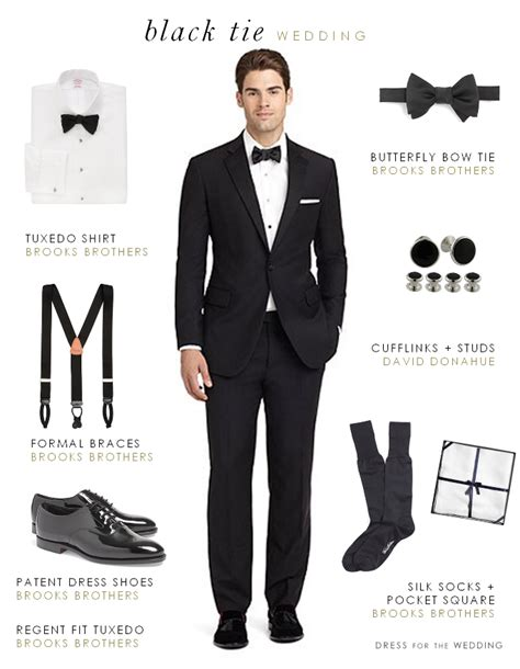 Wedding Attire Black Tie what to wear to a formal black tie wedding