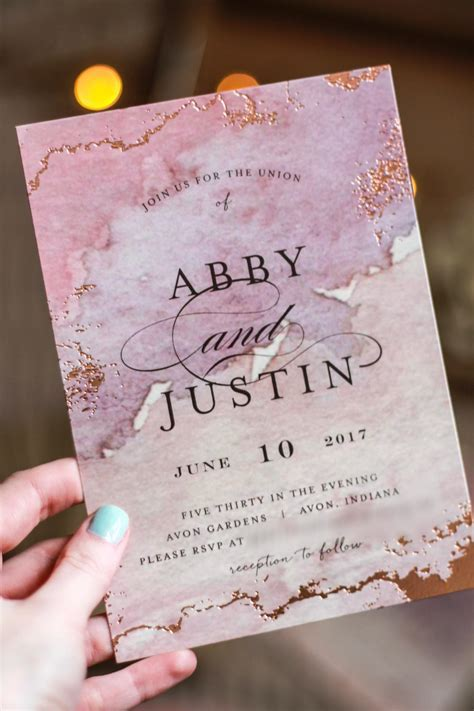 Details: Our Wedding Invitations   Minted Review   Abby